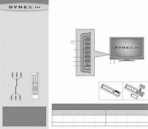 Dynex Flat Panel Television Dx