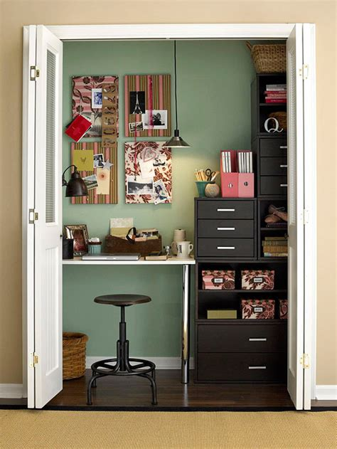 desk inside a closet 5 ways to utilize the unused linen closet