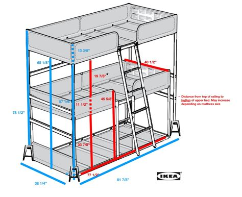 Bunk Bed With Desk And Futon Ikea by Bunk Bed Diy Ikea Hackers Ikea Hackers