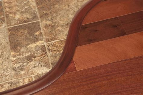 Curved Transition For Laminate Flooring by Flexitions