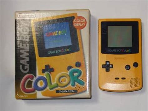 list of gameboy color boy color console variations the database for all
