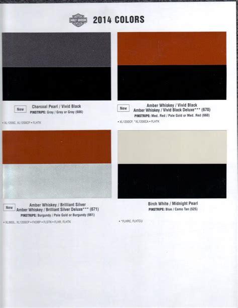 colors harley davidson forums