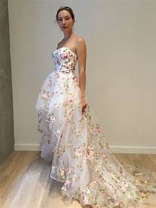 20 blooming gorgeous floral wedding dresses from etsy With flora wedding dress