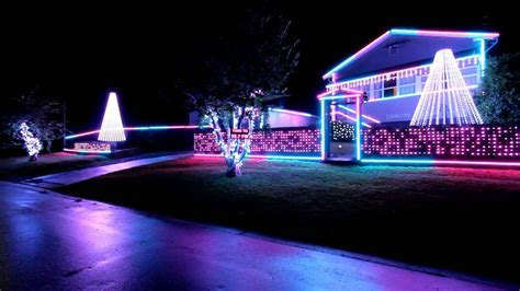 christmas lights display supports rural fire service