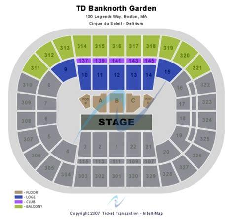 Td Garden Directions by Td Banknorth Garden Tickets In Boston Massachusetts Td