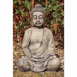 Garten Buddha Frostsicher : sehr sch ner buddha aus steinguss ~ Markanthonyermac.com Haus und Dekorationen
