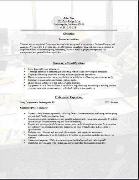 Auditor Duties And Responsibilities Resume by Sle Auditor Resume