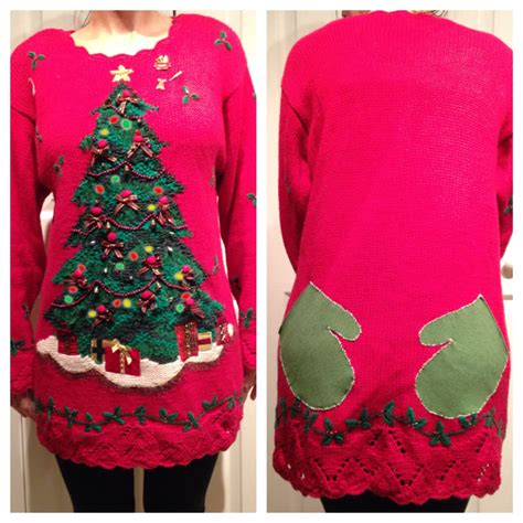 ugly light up christmas sweaters ugly christmas sweater or short dress light up christmas