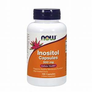 Inositol 500 Mg Now - 100 Caps