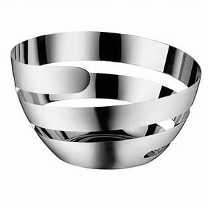 Wmf Laterne Edelstahl 80 Cm : wmf lounge living peel korb 26 cm obstkorb edelstahl design spirale cromargan ebay ~ Bigdaddyawards.com Haus und Dekorationen