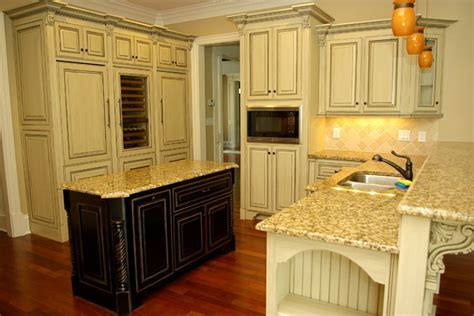 Antique Glazed Cabinetry   Traditional   Kitchen   other