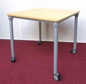 Table Sur Roulettes : lot 2539 1 unite table de travail carree sur roulettes de marque ikea modele prioritet plateau de c ~ Teatrodelosmanantiales.com Idées de Décoration