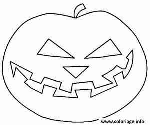 Citrouille Halloween Dessin : coloriage dessin d une citrouille ~ Melissatoandfro.com Idées de Décoration