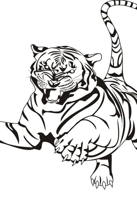 bengal tiger coloring pages coloring home