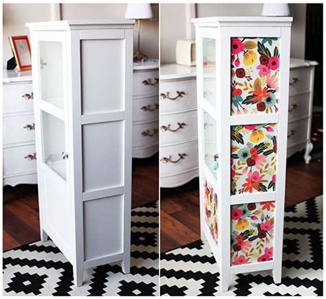 update  furniture  wrapping paper decoupage