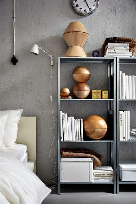 rock ikea hyllis shelves   interior  ideas digsdigs