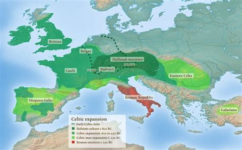 The ancient Celts: More Europe-wide than you would think ...