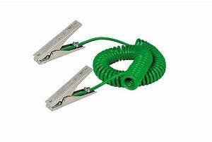 Cable De Terre 25mm2 : c ble de terre spirale avec 2 pinces de mise la terre ~ Dailycaller-alerts.com Idées de Décoration