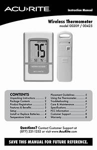 Acurite Thermometer 00425