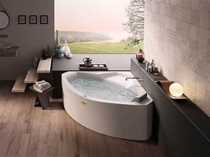Baignoire D Angle 130x130 : baignoire angle 130x130 awesome baignoire en angle ~ Edinachiropracticcenter.com Idées de Décoration