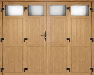 Porte De Garage 4 Vantaux : lallemant fermetures les portes de garage ~ Dallasstarsshop.com Idées de Décoration