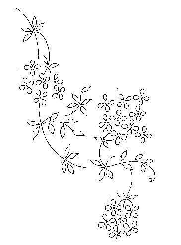 applique angolari disegno da ricamare fiori angolari paint plpatt mud 22