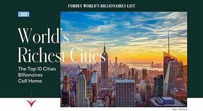 Billionaires Cities Richest Forbes Worlds Getty