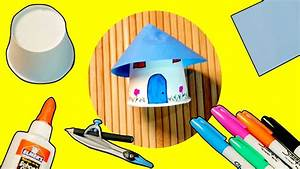 Paper-Cup-House-Craft-Ideas-Little-House-attachment - Diy