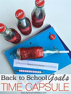 Creating A Back To School Goals Time Capsule Plus