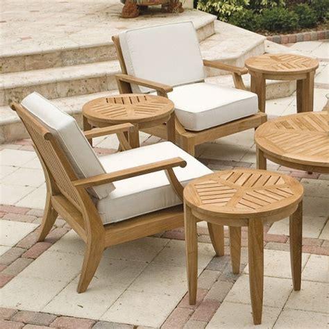 laguna teak deep seating outdoor lounge chair