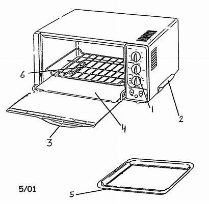 Parts Toaster Oven Kenmore Cabinet Diagram Salton