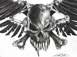 Evil Skull and Crossbones - Bing images