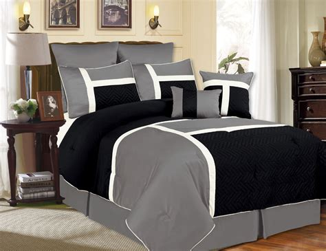 black and grey comforter vikingwaterford page 23 paisley grey and black