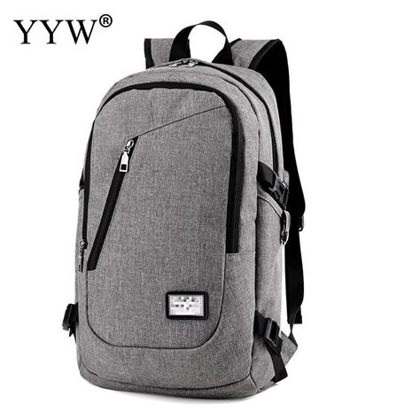 aliexpress buy canvas usb charging backpack casual