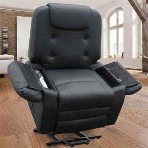 fauteuil relax massant chauffant fauteuil relax releveur massant chauffant shiatsu simili cuir 1 moteur 2 couleurs vilacosy