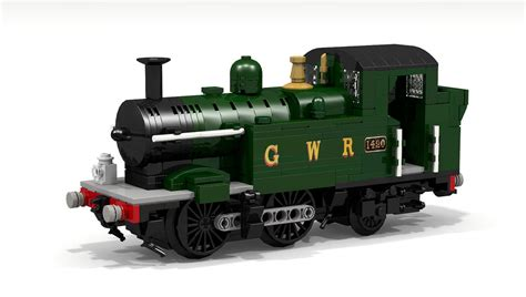 gwr class 14xx steam engine lego ideas project this is a
