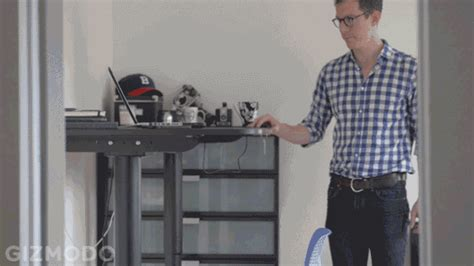 dwight standing desk gif giphy gif