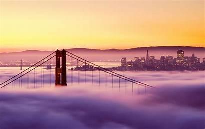 Francisco San Bridge Golden Gate Wallpapers Area