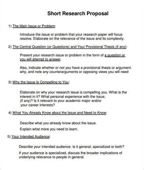 Simple Research Proposal Template Essay On Essay Writing Basic