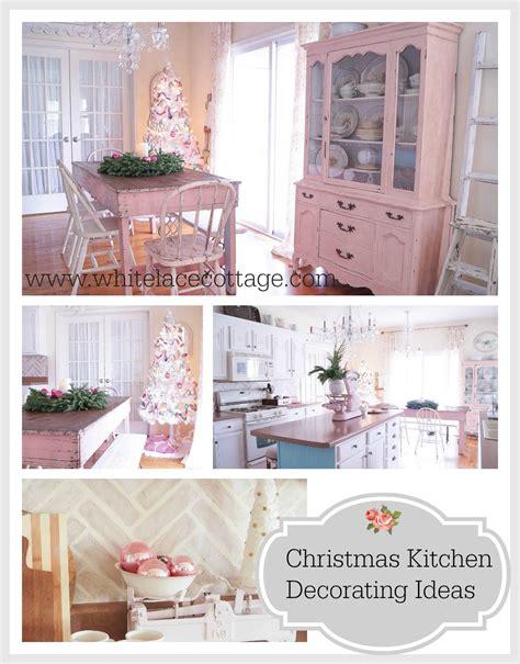 christmas kitchen decorating ideas white lace cottage