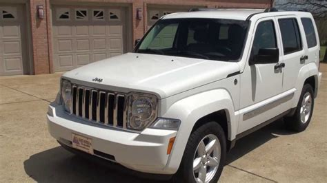 jeep white liberty hd video 2012 jeep liberty limited 4x4 white used for sale