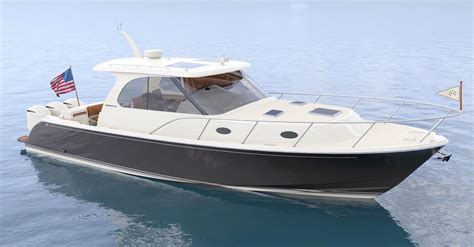 Hinckley Boat Construction by New Jeanneau Nc 33 New Outboard Powered Hinckley Sea