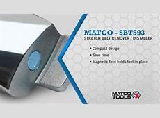 Stretch Belt Remover Installer Matco Tools Item SBT593