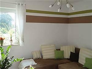 Zwei Wände Farbig Streichen : ambitious and combative wohnzimmer wand streichen ideen ~ Markanthonyermac.com Haus und Dekorationen