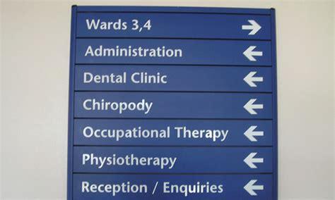 hospital signage manufacturer  delhi