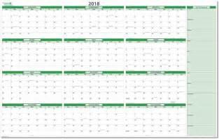 2018 Calendar Printable Year Planner