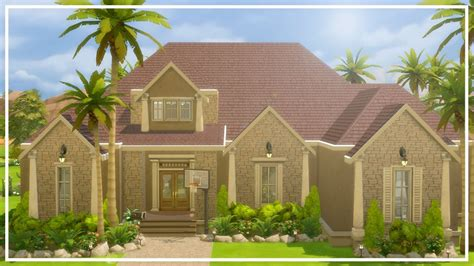 build my house building my house in the sims the sims 4 speed