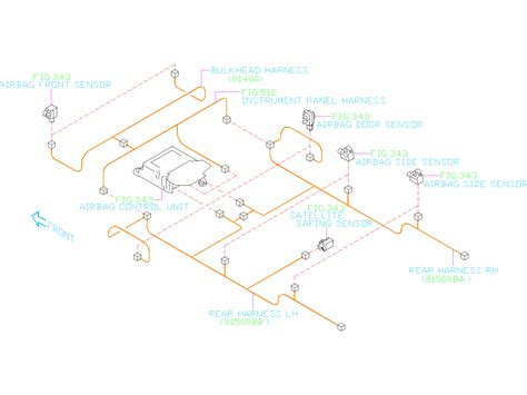 1995 Subaru Legacy Wiring Harnes Diagram by Subaru Legacy Harness Rear Right Wiring