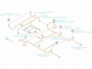 Subaru Outback Harness Bulkhead  Wiring Harness Center