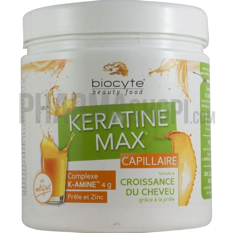 keratine max capillaire biocyte beauty food pot de